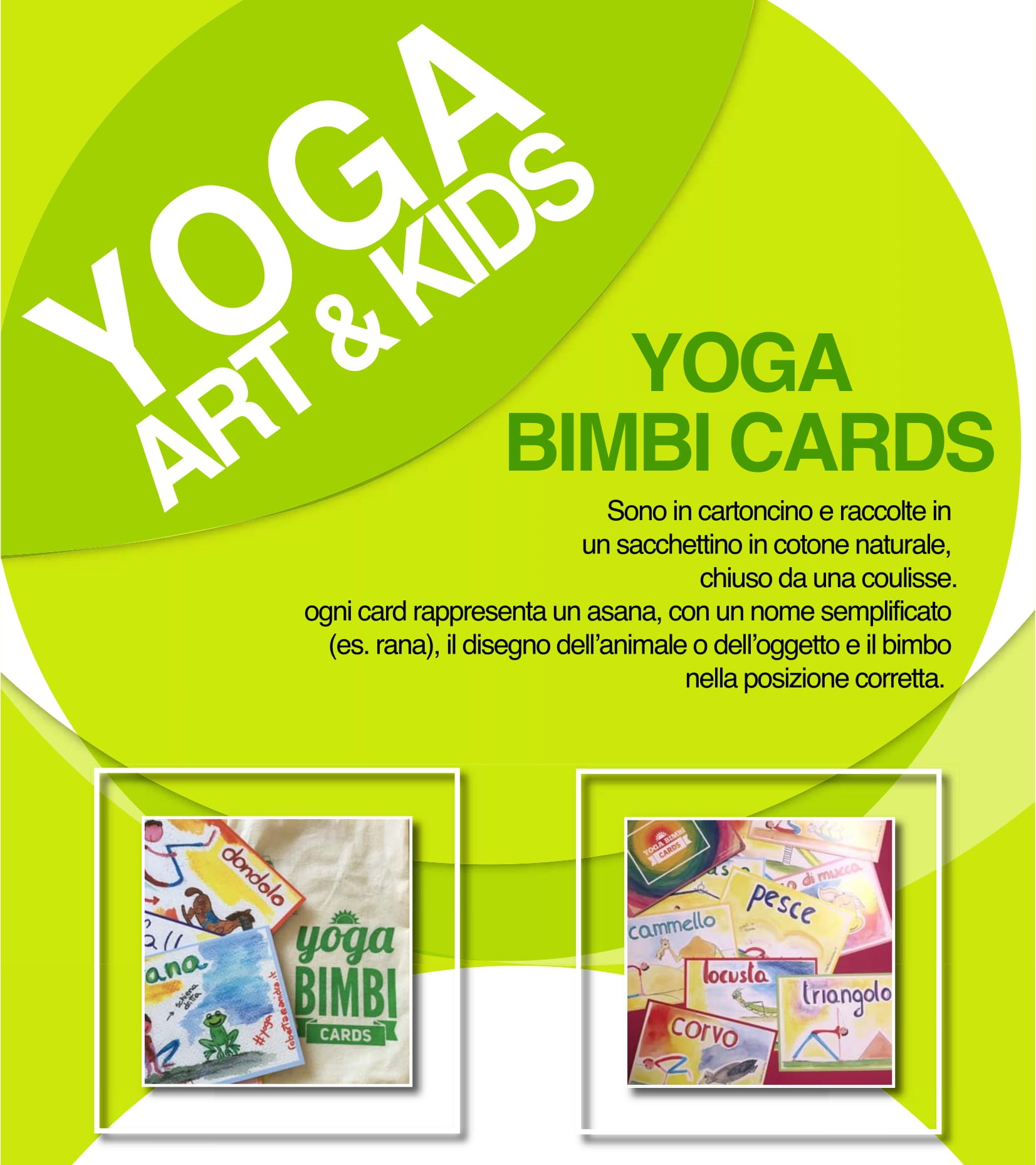 Yoga Bimbi Art Kids yoga in classe